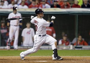 Yan Gomes belts a homer (AP Photo/Tony Dejak)